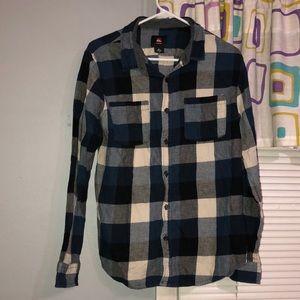 3/$15✨Blue/Black/White/Gray Flannel